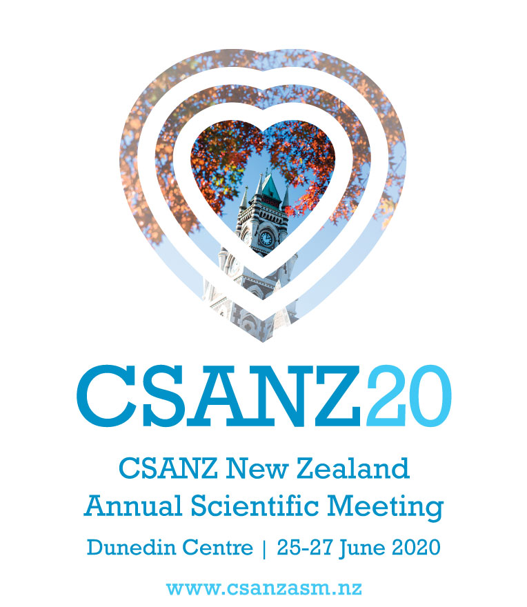 CSANZ ASM 20  - New Zealand Annual Scientific Meeting 2020