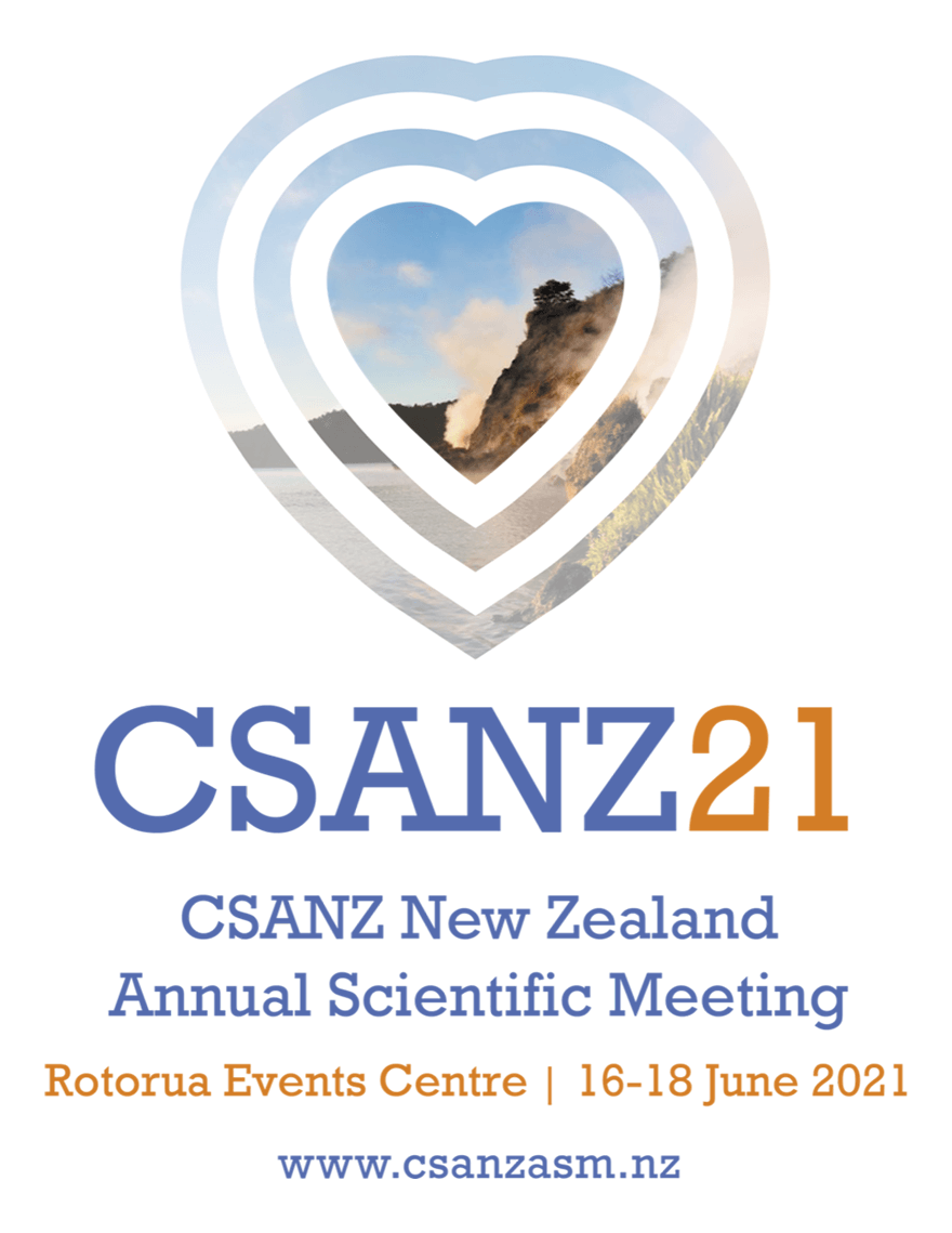 CSANZ ASM 21  - New Zealand Annual Scientific Meeting 2021